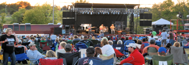 Cornstock Concert on the Hill