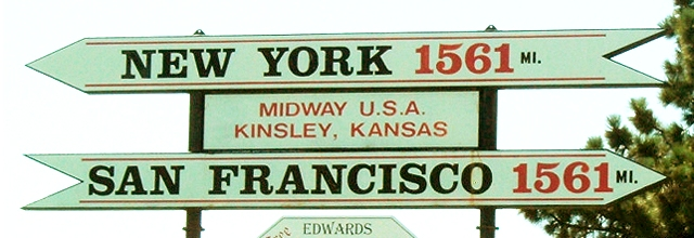 Midway USA Sign in Midway Park