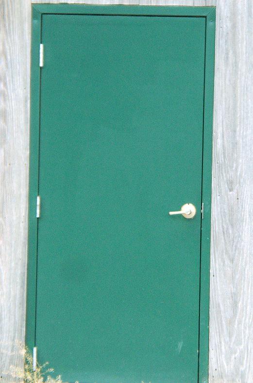 Rural Kansas Tourism Piqua Exploration The Green Door