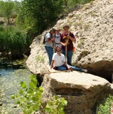 Hiking Manter Dam