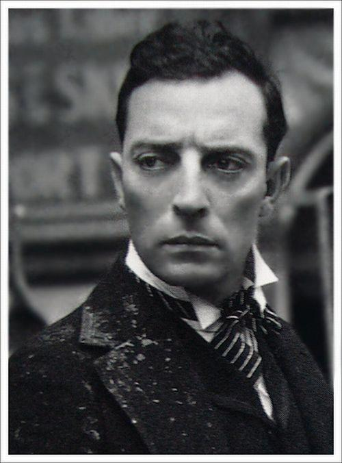 buster keaton train
