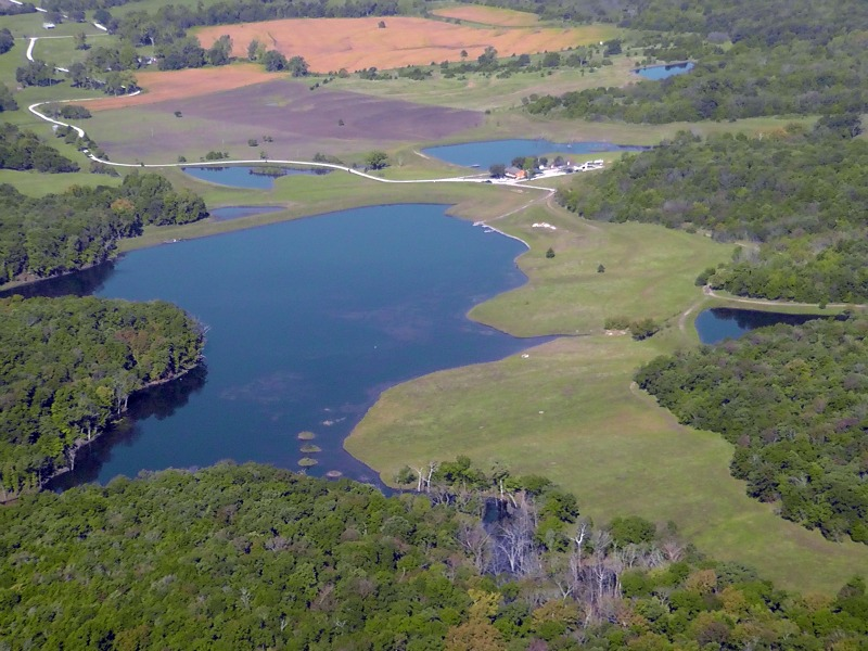 Timber Hills Lake Arial View