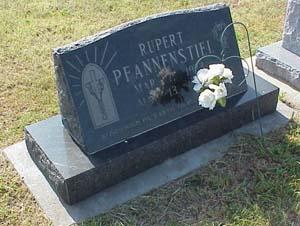 Rupert Pfannenstiel's Grave